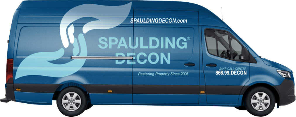 image of a spaulding decon truck