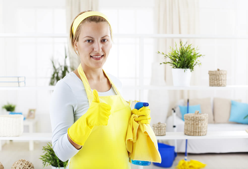 Home Cleanup and Disinfection