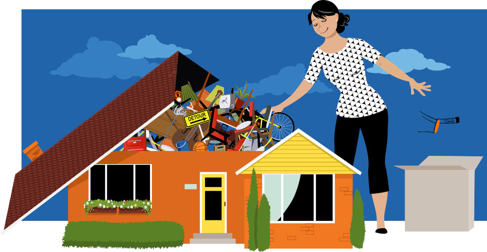 How to Help a Hoarder Who Doesn't Want Any Help