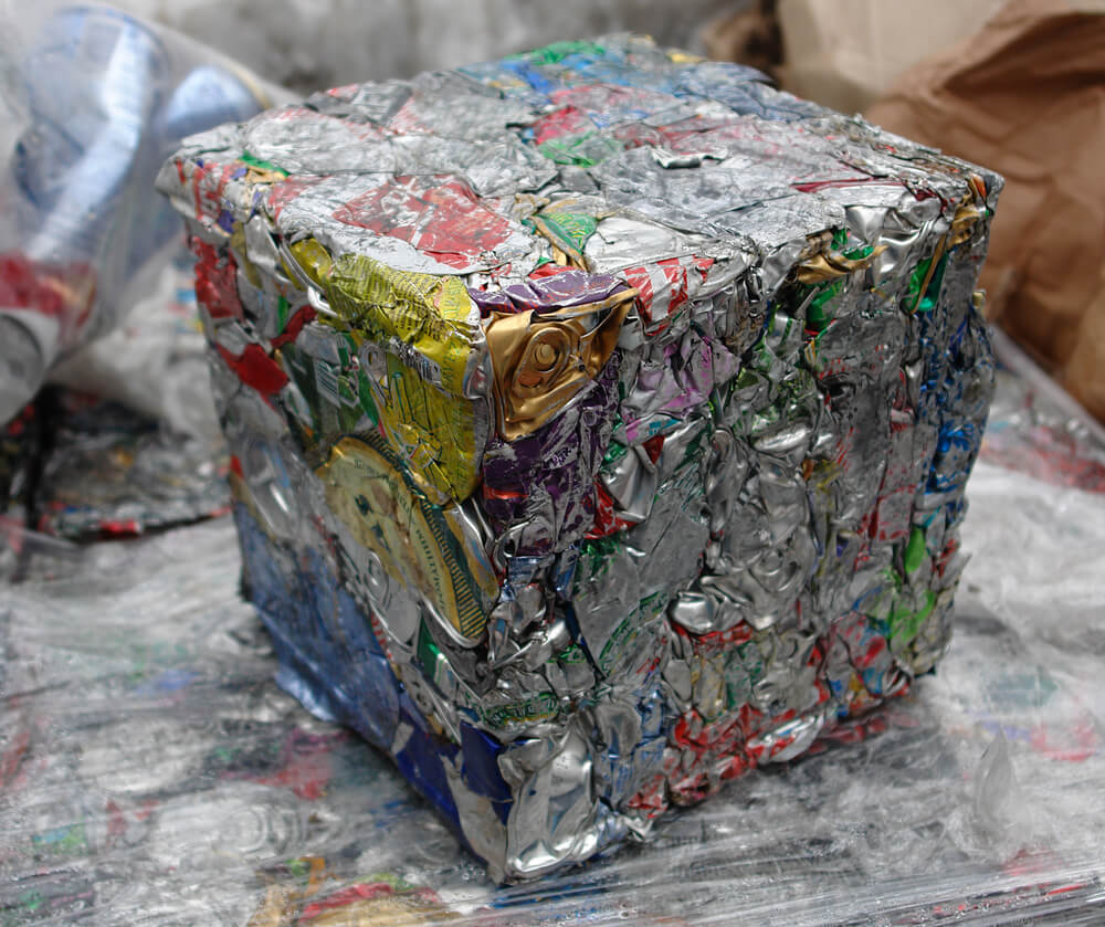 extruded aluminum waste